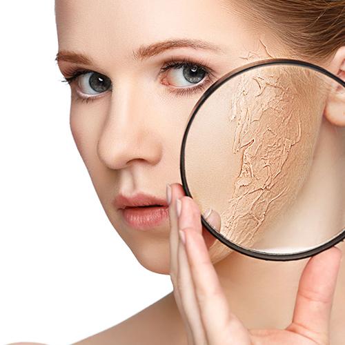 化粧崩れしない肌作り。
