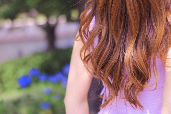 綺麗な髪。。。